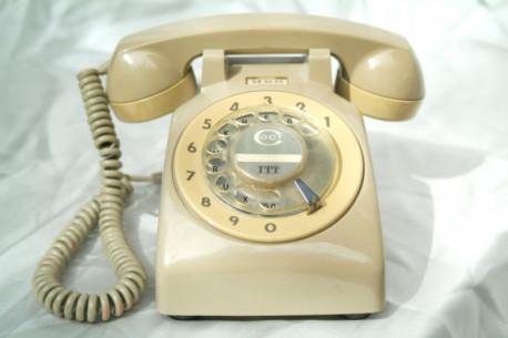 Téléphone ITT CGCT vintage Téléphone ITT CGCT