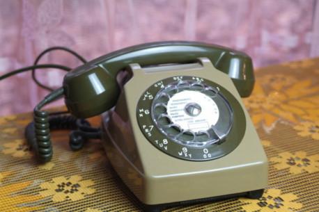 téléphone a cadran so. co. tel s63 de 1982