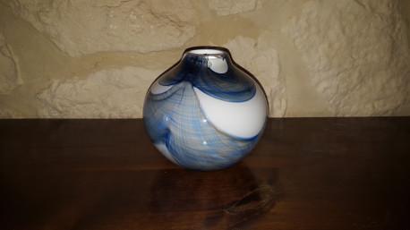 Vase en verre NOVARO (année 60-70) Ancien Vintage