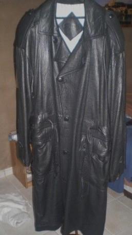 Manteau cuir modas diadema t54