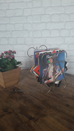Porte vinyle vintage
