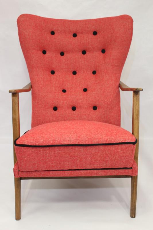 fauteuil wing chair scandinave ann es 50 60 les vieilles choses. Black Bedroom Furniture Sets. Home Design Ideas