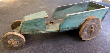 voiture en bois fabrication artisanale 1922 VINTAGE