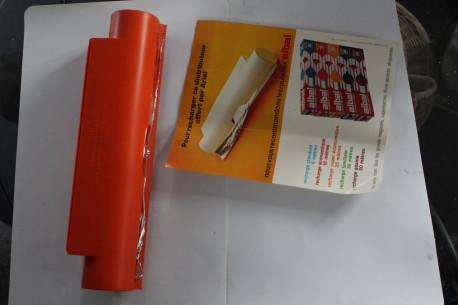 derouleur papier alu vintage