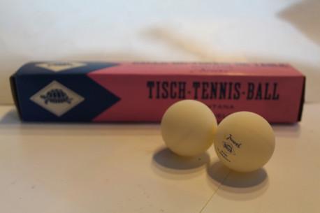 balles de ping pong vintage