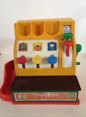 Caisse enregistreuse Fisher Price Vintage