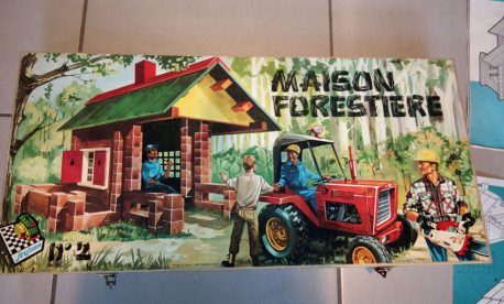 Jeu de construction bois maison foresti re vintage les - Jeu de construction de maison virtuel ...