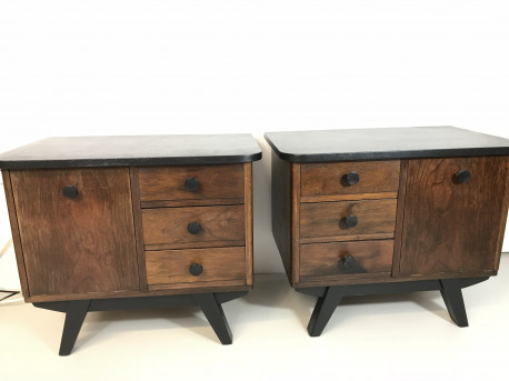 Lot de 2 chevets vintage