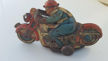 Jouet ancien moto
