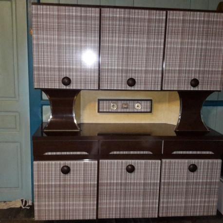 Buffet rare, en formica vintage fabrication italienne de poggibonsi 800€