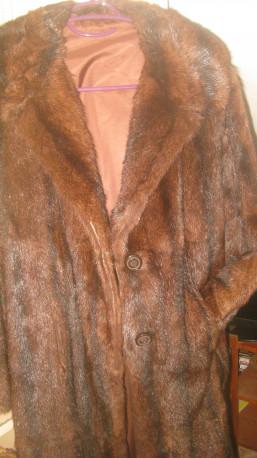 Manteau véritable fourrure - zibeline - vintage