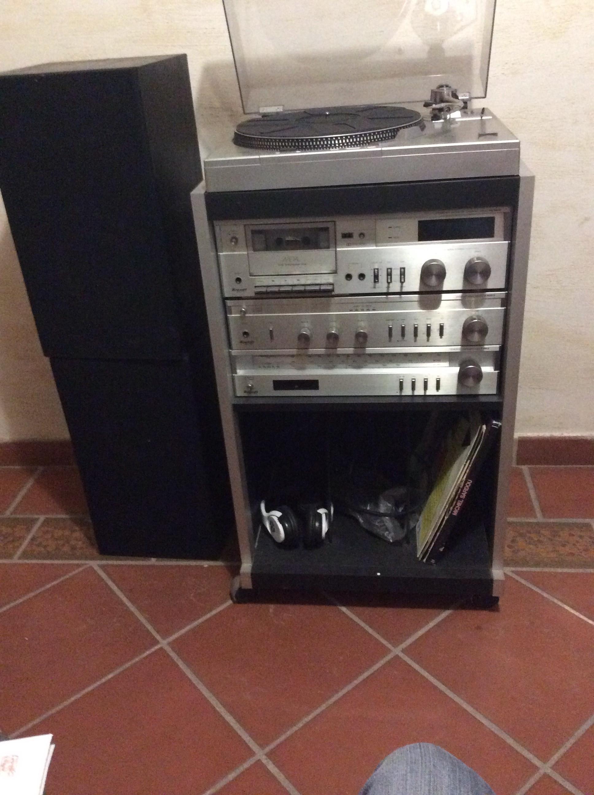 Chaine Hi Fi Radiola Electronique Vintage Les Vieilles Choses