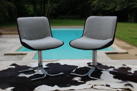 Paire Chaise modèle année 77 style Stratford