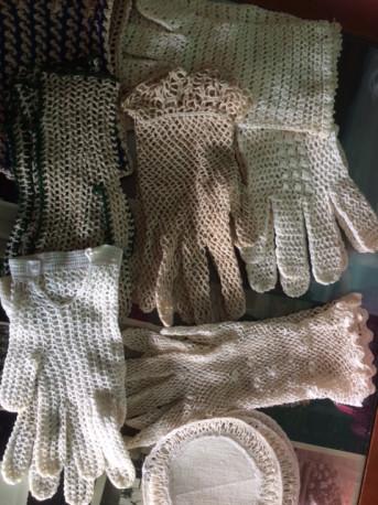 gants en dentelle vintage