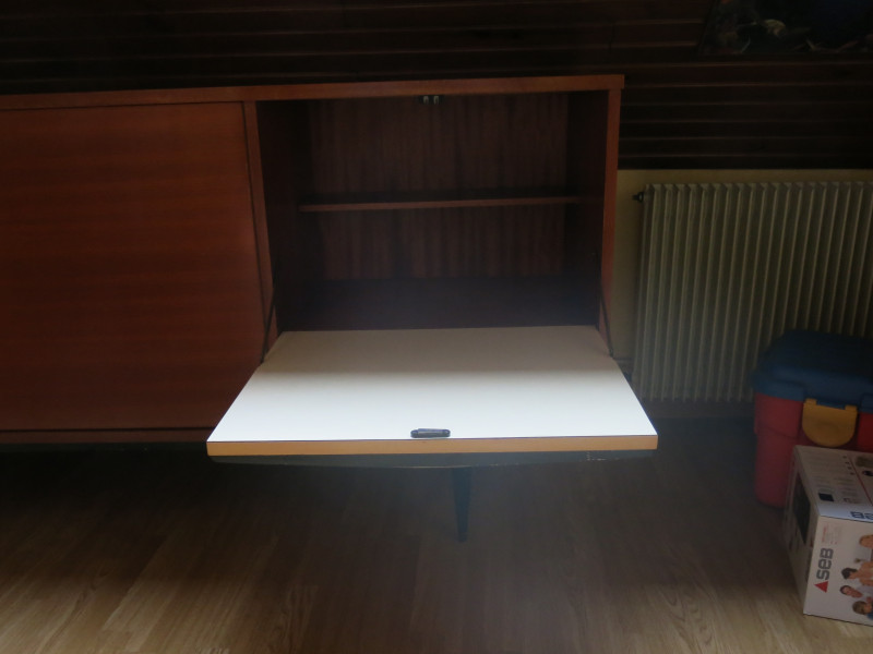 buffet enfilade ann es 60 vintage les vieilles choses. Black Bedroom Furniture Sets. Home Design Ideas