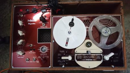 Magnétophone Perfectone Magneton Vintage