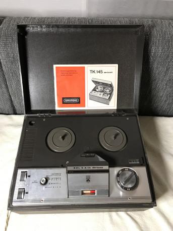 Enregistreur audio à bande GRUNDIG TK 145 - vintage