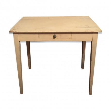 Ancienne table d'appoint patine d'origine