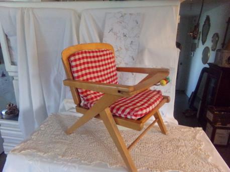 Chaise-Pot Baumann de 1960 Vintage