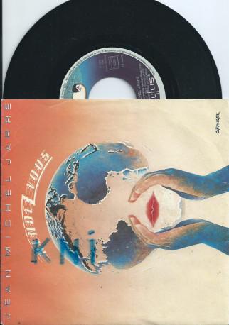 Vinyle 45 T , Jean Michel Jarre 1986