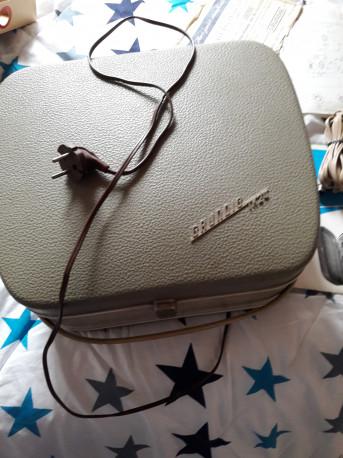 Lecteur enregistreur GRUNDIG TK 24 fonctionne 220 volt vintage
