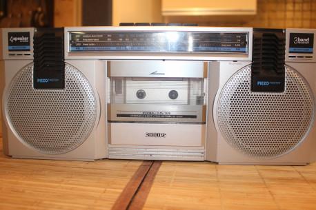 Radio k7 80's philipps vintage