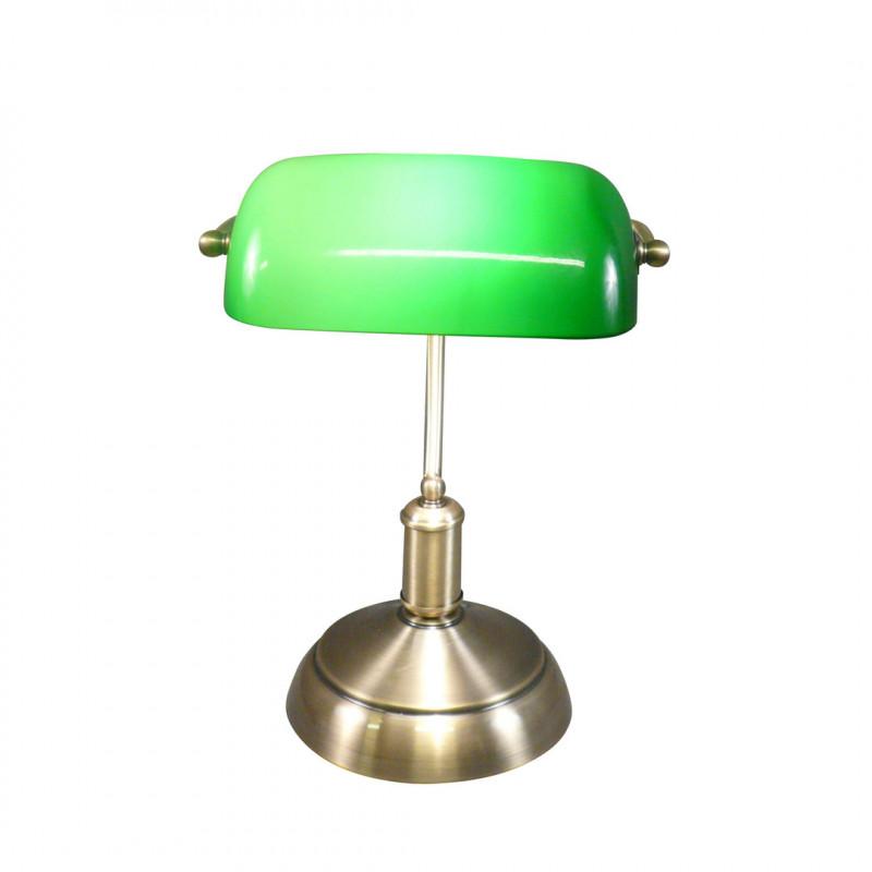 Lampe De Banquier Vintage Les Vieilles Choses