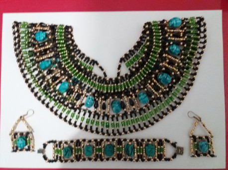 Parure Vintage Style Egyptien