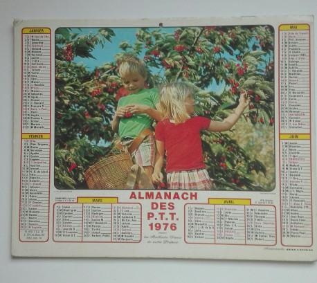 Almanach des PTT 1976