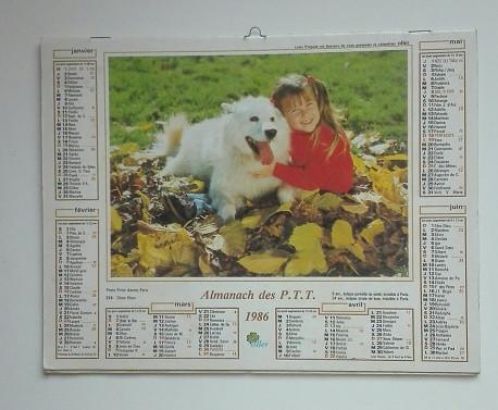 ALMANACH des PTT 1986