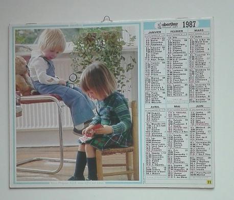 ALMANACH des PTT 1987