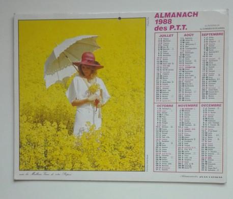 ALMANACH des PTT 1988