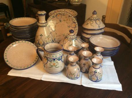 Service ceramique vintadge