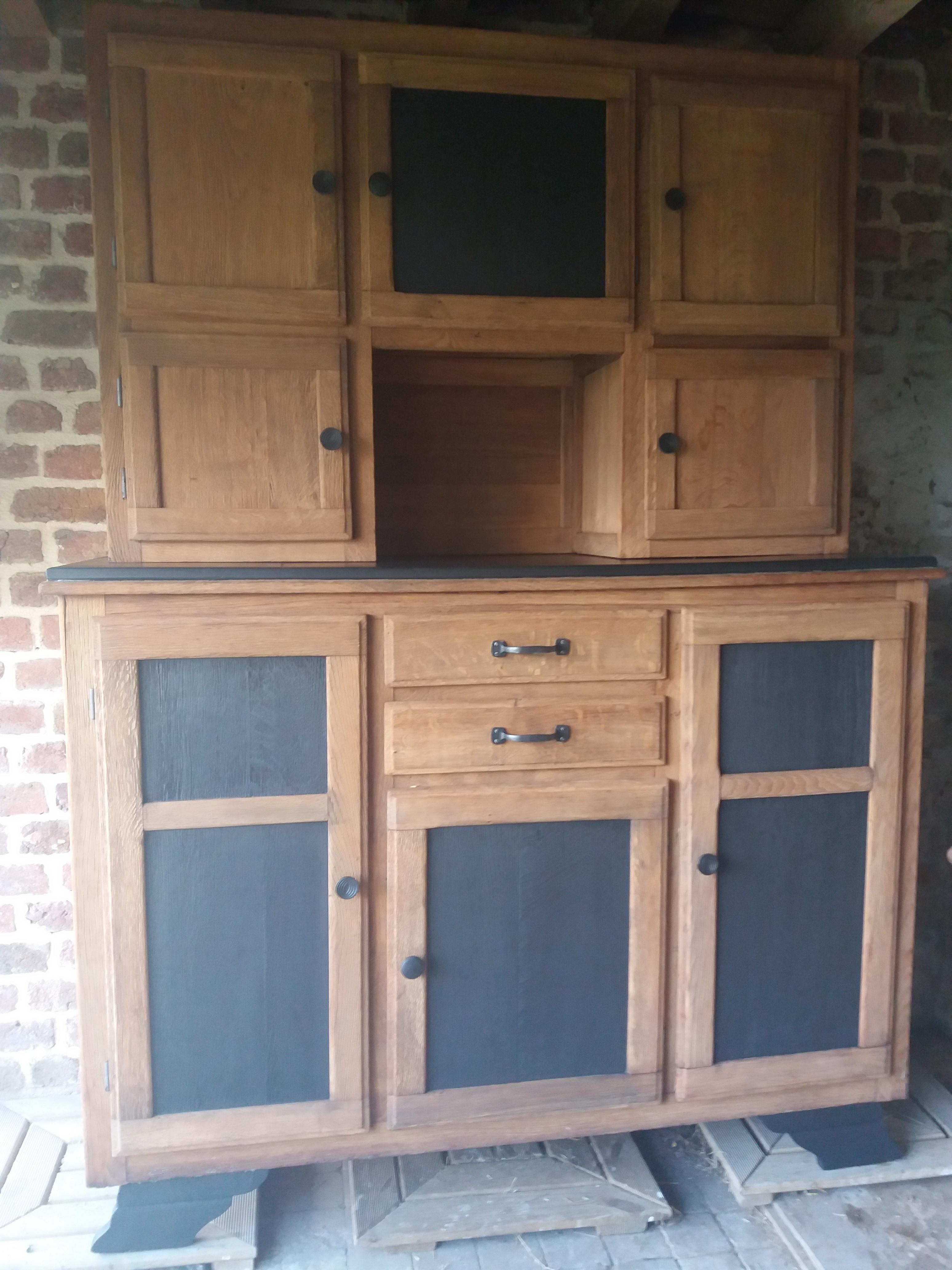 buffet mado peints a vendre. Black Bedroom Furniture Sets. Home Design Ideas