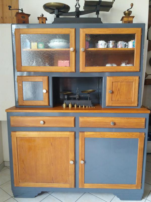 buffet mado ann es 50 relook les vieilles choses. Black Bedroom Furniture Sets. Home Design Ideas