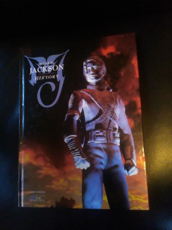 Livre Michael Jackson History hors collection 1995