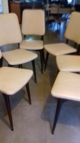 Suite de 6 chaises scandinave
