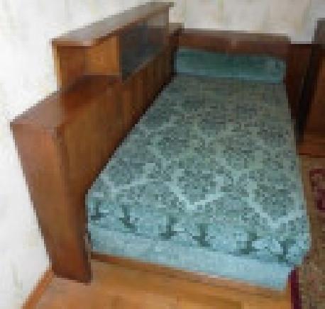 Divan lit cosy velours vintage art déco