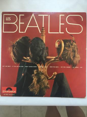 disque vinyle les beatles 1964 vintage