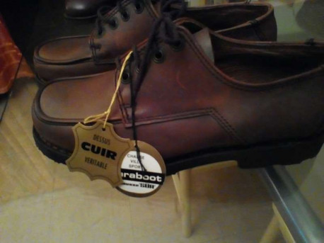 Chaussure Paraboot homme vintage