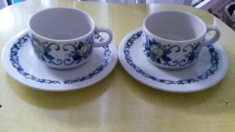 Tasse à café porcelaine CADIZ