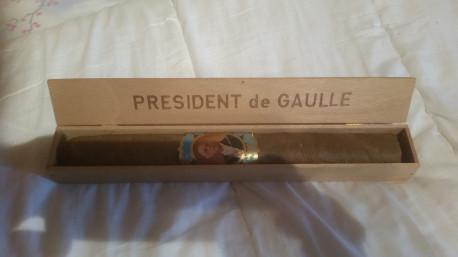 cigare Président DE Gaulle ancien