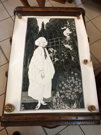 Affiche Audrey Beardsley Pierrot