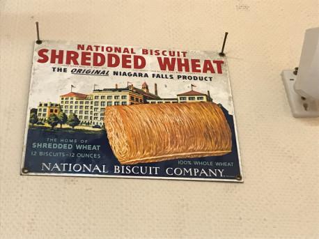 Plaque émaillée National Biscuit