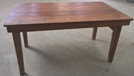 Table pliante ancienne