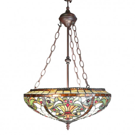Lustre Tiffany baroque