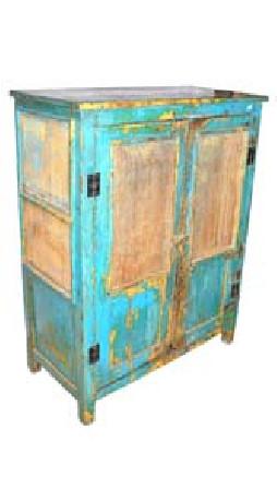 garde manger en tek ancien les vieilles choses. Black Bedroom Furniture Sets. Home Design Ideas