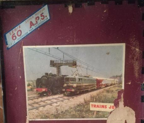 Train électrique JEP 60 AP5 Vintage