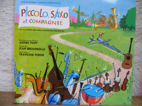"""Livre-disque """"Piccolo, Saxo & Cie"""" de 1957"""