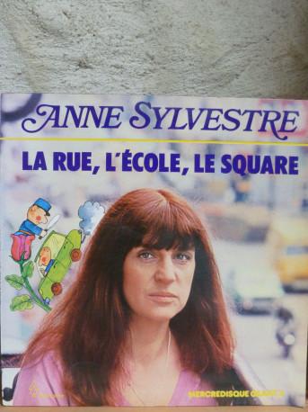 """Anne Sylvestre """"La rue, l'école, le square"""". Album 1979"""